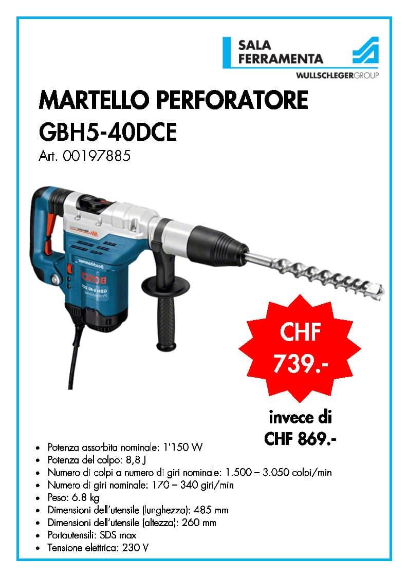 martello bosch GBH5-40DCE