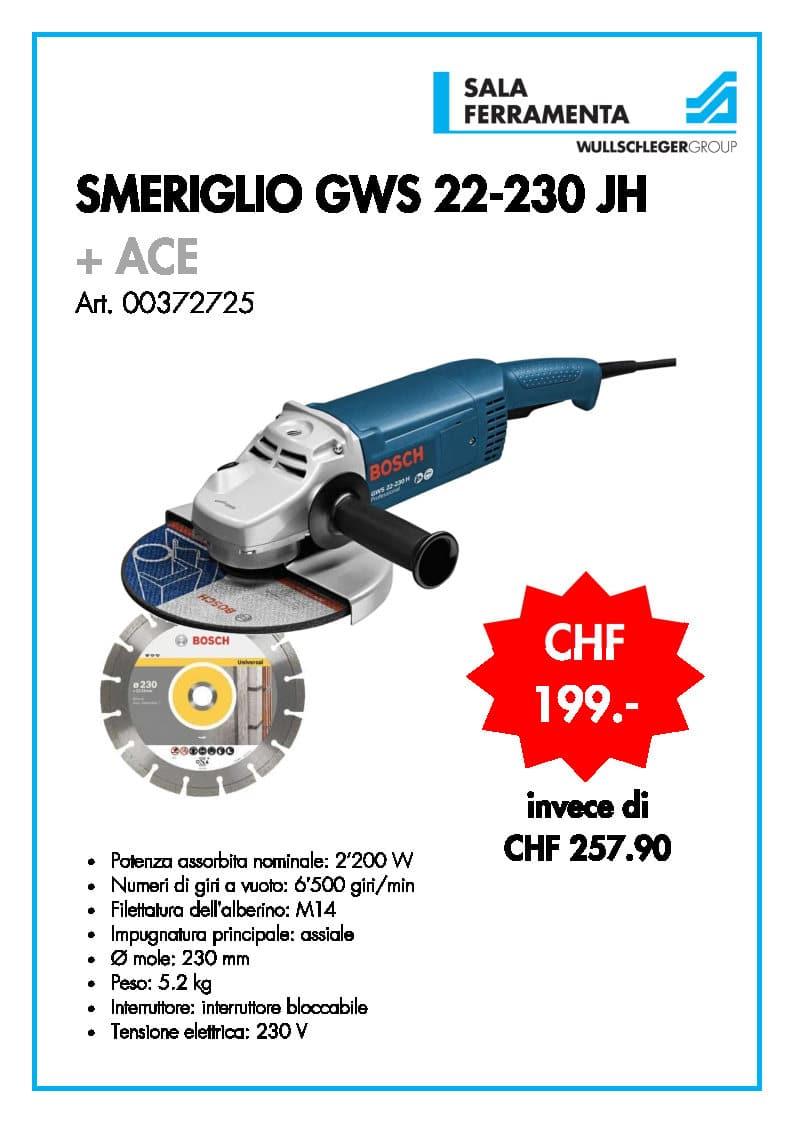 Smeriglio GWS 22-230 JH