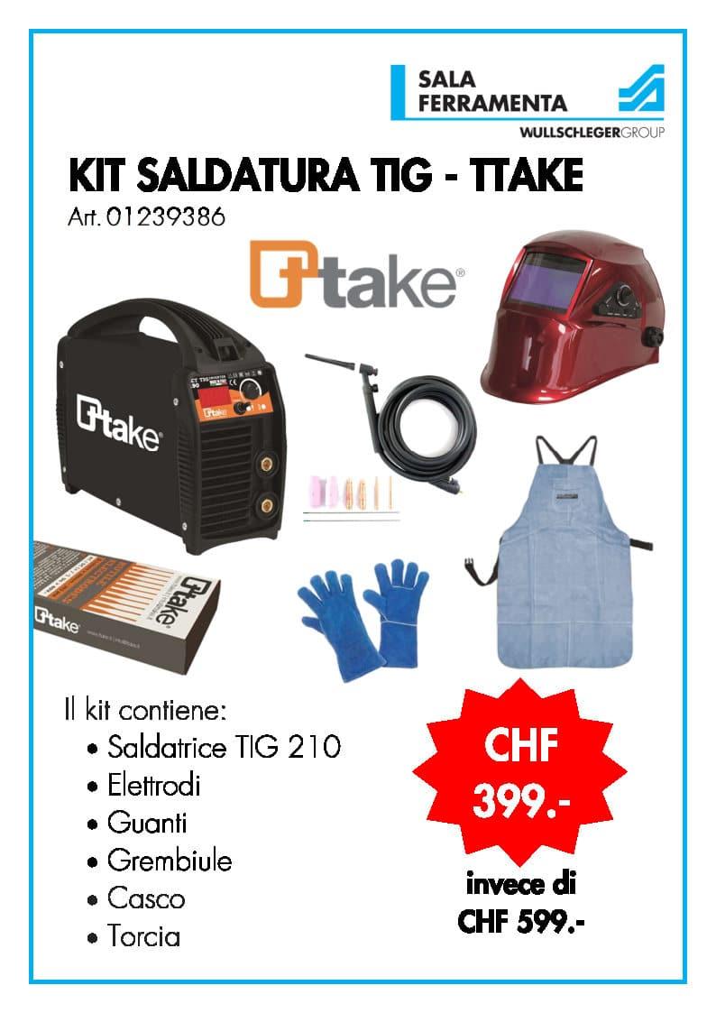 Kit Saldaura TIG