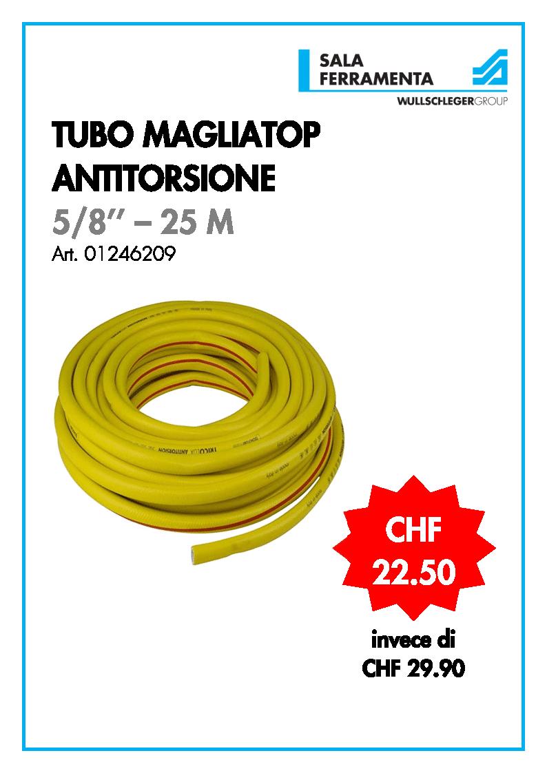 Tubo magliatop antitorsione 25 m