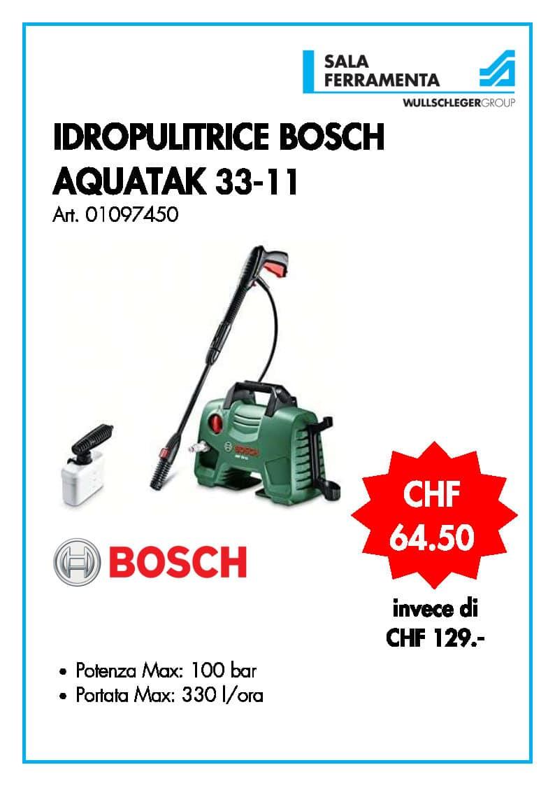 Idropulitrice Bosch Aquatak 33-11